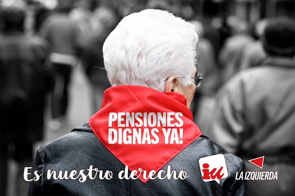 Mocion para la defensa de las pensiones públicas y dignas