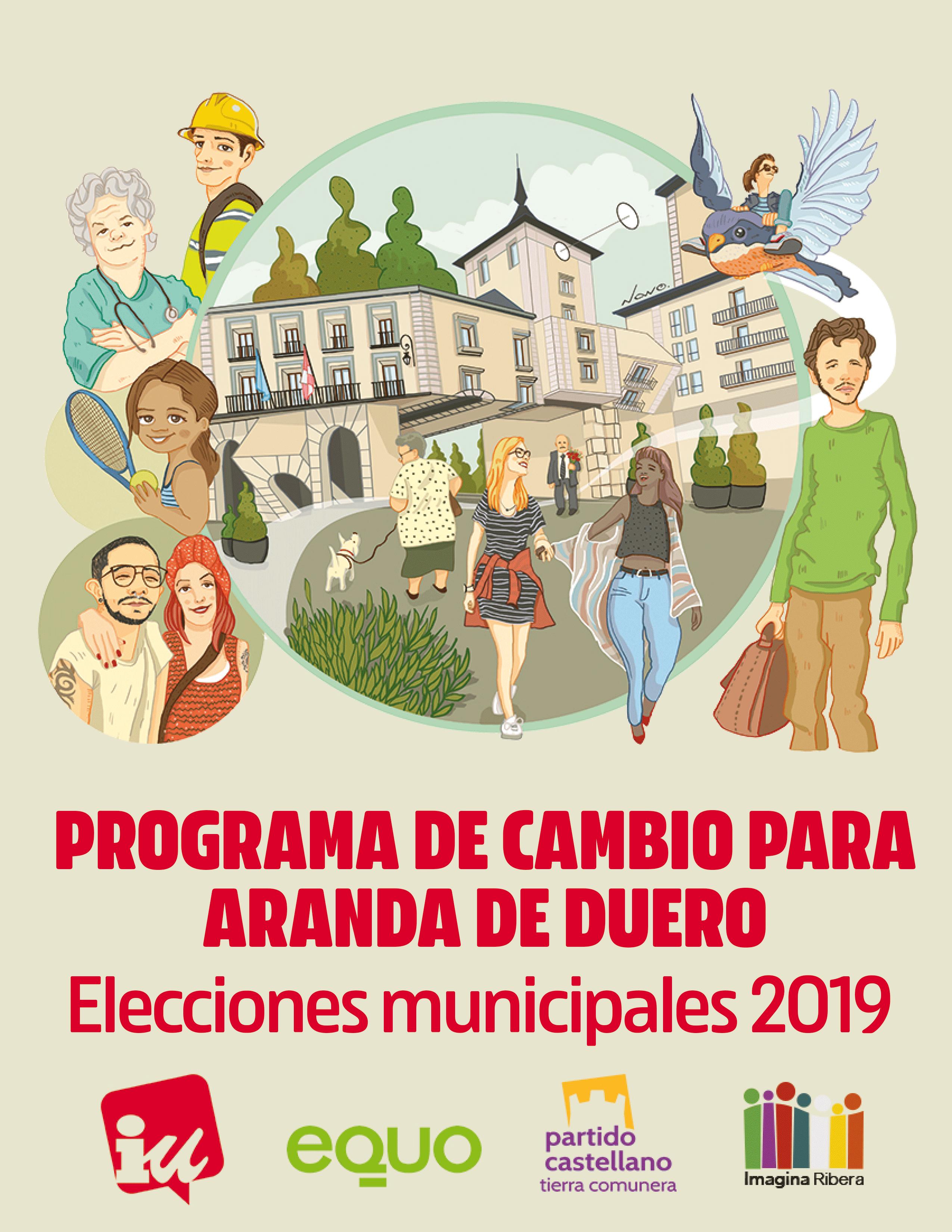 Programa para cambiar Aranda Municipales 2019