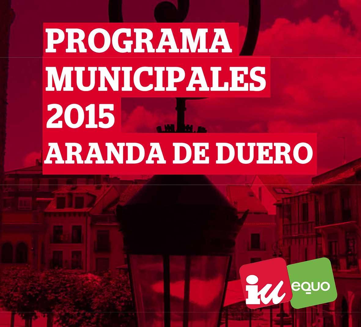 PROYECTO DE CIUDAD PARA LAS ELECCIONES MUNICIPALES DE 2015