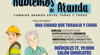 La plataforma de debate público plantea hablar sobre el trabajo y los cuidados en Aranda.