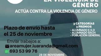 "BASES DE LA CONVOCATORIA DEL I CONCURSO AUDIOVISUAL ""ACTÚA CONTRA LA VIOLENCIA DE GÉNERO"""